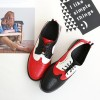Women's Patch-color Lace-up Oxfords Flat Vintage Shoes thumb 1