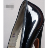 Women's Black Elegant Pointed Toe Stiletto Heel Leather Pumps thumb 3