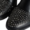 Black Chelsea Boots Rhinestone Ankle Boots thumb 5