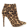 Leopard Print Boots Stiletto Heels Fashion Ankle Boots US Size 3-15 thumb 3