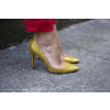 Gold Sparkly Heels Glitter Pointy Toe Stiletto Heels Pumps thumb 4