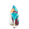 Graffiti Printed 4 Inch heels Pointy Toe Stiletto Heels Pumps For Women  thumb 2