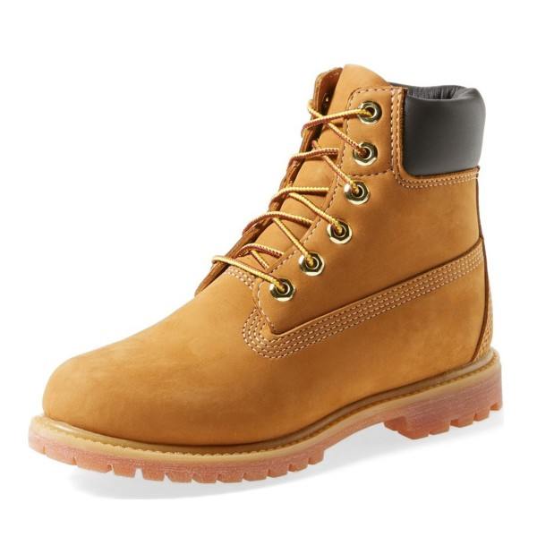 Mustard Casual Boots Lace up Comfy Ankle Boots image 1