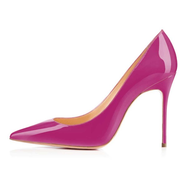 Orchid Classic Office Heels Pointy Toe Stiletto Heel Pumps image 3