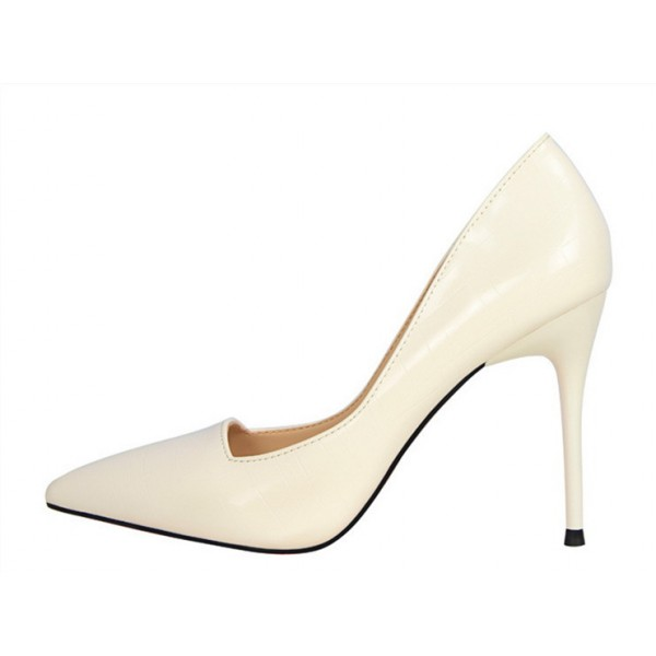 Women's Write Pointy Toe Commuting Stiletto Heel Wedding Shoes image 1