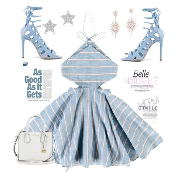 Light Blue Lace up Sandals Strappy Open Toe Suede Stiletto Heels Shoes image 4