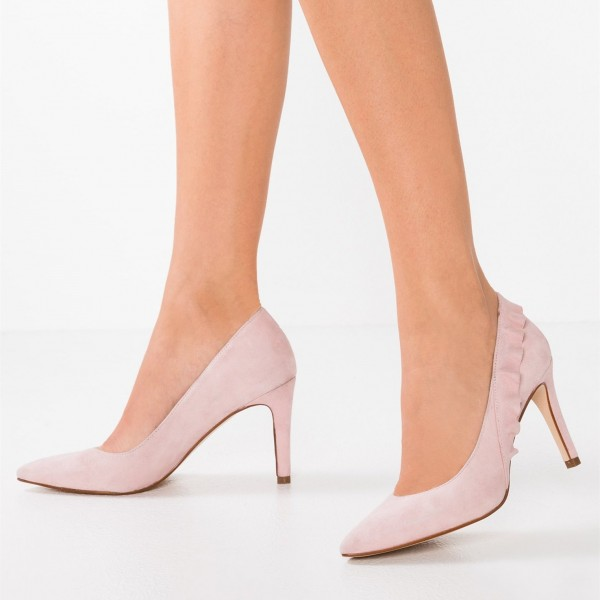 Light Pink High Heels