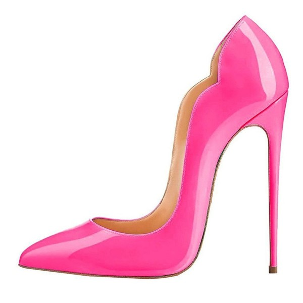 Pink Pointed Toe Stiletto Heels  Evening Pumps for Women  image 2