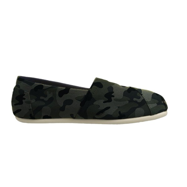Camouflage Comfortable Flats Slip-on Canvas for Female image 2