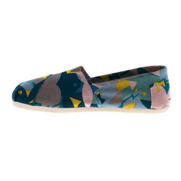 Women's Colorful Cute Rabbits Printed Slip-On Comfortable Flats  image 2