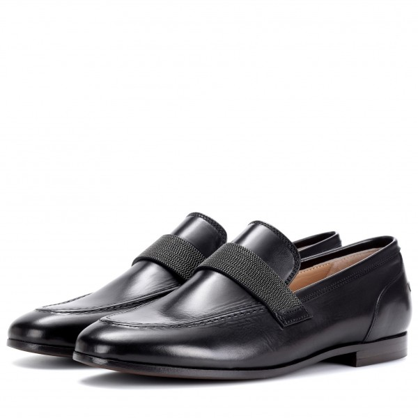 Black Round Toe Office Shoes