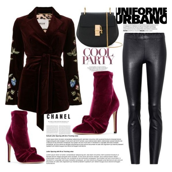 Burgundy Ankle Booties Stiletto Heel Velvet Boots with Bow image 5