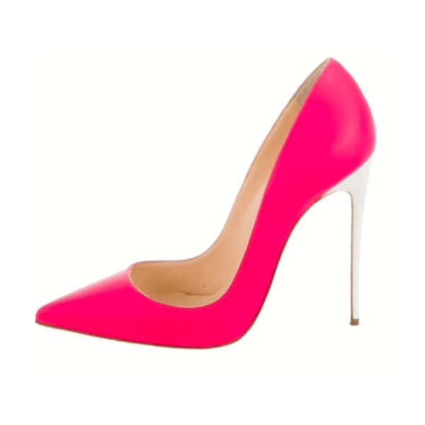 Women's Rosy Elegant Pointed Toe Stiletto Heels Shoes image 1