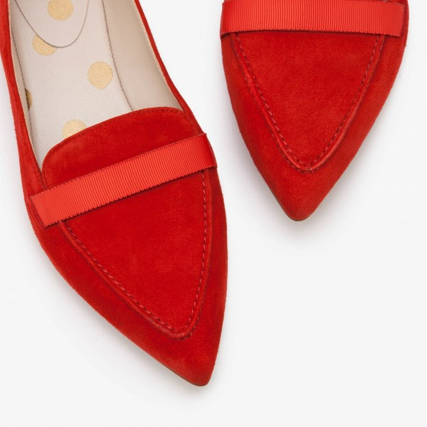 womens pointed toe flats cheap online