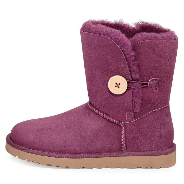 Violet Suede Flat Winter Boots image 2