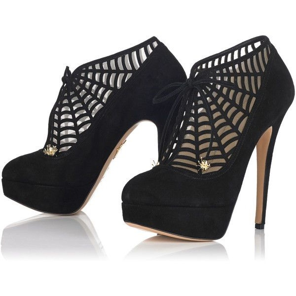 spider man fashion boots web lace up stiletto heel booties for night