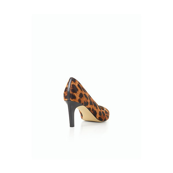 Women's Leopard Print Heels Stiletto Heel Pumps image 3