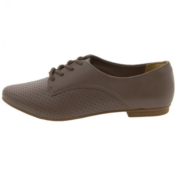 Brown Vintage Shoes Comfortable Oxfords for Women image 4