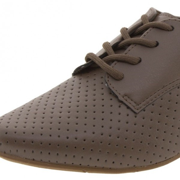 Brown Vintage Shoes Comfortable Oxfords for Women image 2