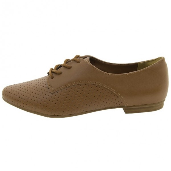 Women's Brown  Oxfords Comfortable Flats Vintage Boots image 2