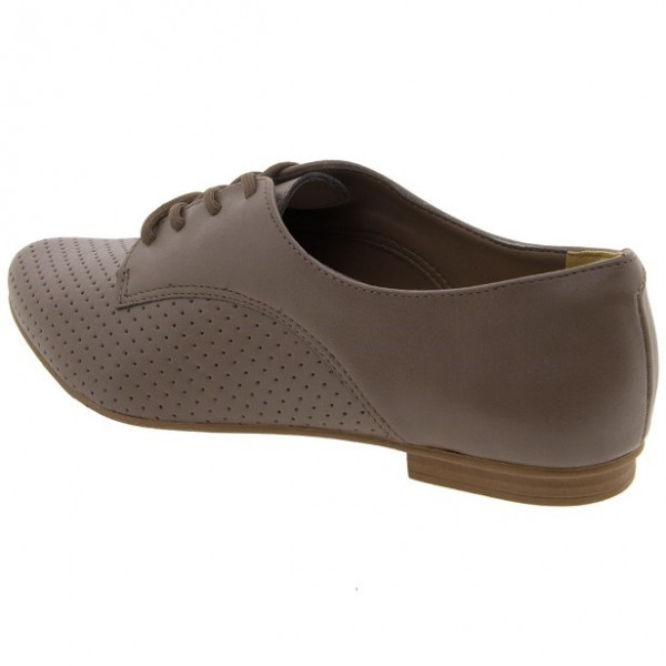 Brown Vintage Shoes Comfortable Oxfords for Women image 3