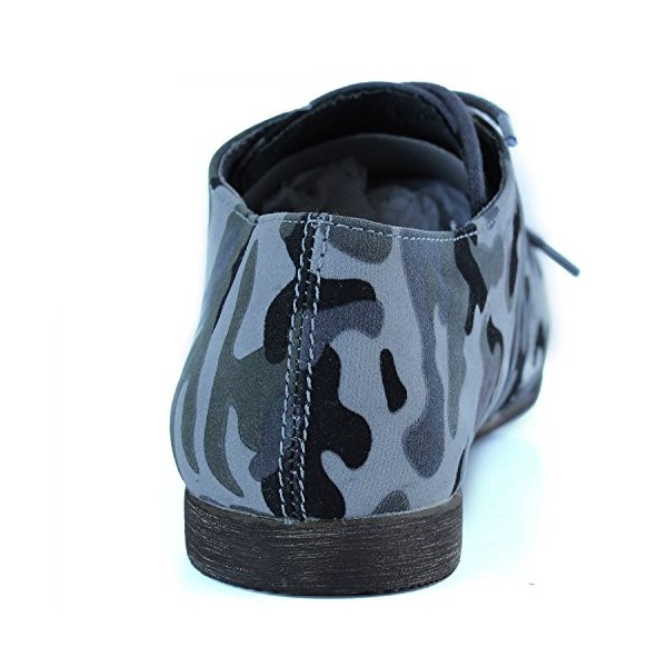 Camouflage Comfortable Shoes Lace-up Flat Oxfords image 2