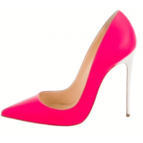 Women's Rosy Elegant Pointed Toe Stiletto Heels Shoes