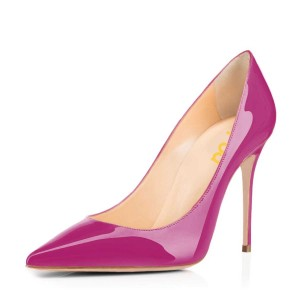 Orchid Classic Pointy Toe Commuting Stiletto Heel Pumps