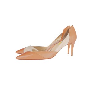 Pink D'orsay Pumps