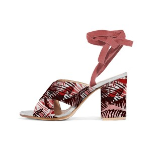 Maroon Tropic Style Sandals
