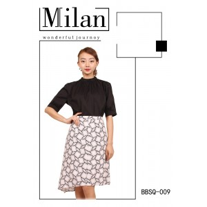 Women's Elegant Summer Midi Office Dress