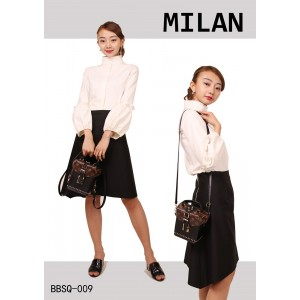 Women's Summer White Business Cute Shirt Black Office Dress