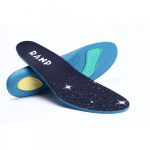 Blue and Navy Shoes Insoles