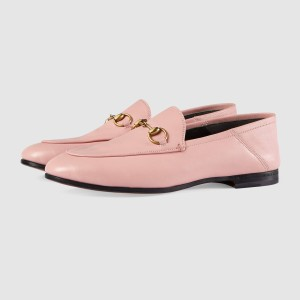 Blush Vintage Buckle Loafers for Women