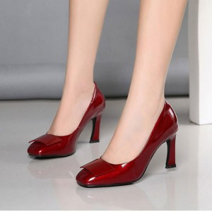 02250fd933 10 cm/4 inch Spool Heel Shoes , Free Shipping to Worldwide | FSJ