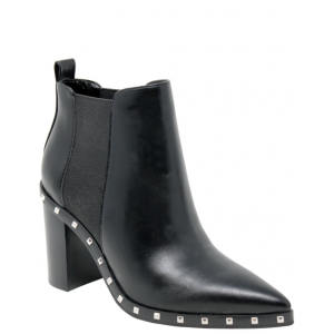Custom Made Black Rock Studs Chelsea Boots