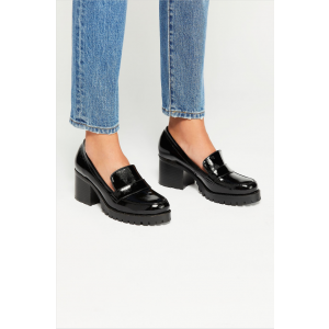 Custom Made Black Casual Women's Loafers