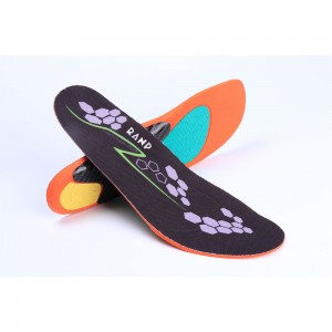 Purple and Orange Comfortable Insoles