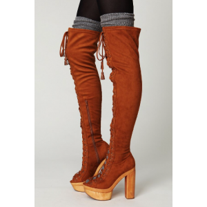 Women's Stylish Boots Over-The- Knee Boots