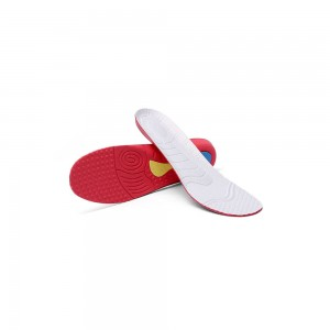Red and White Comfortable Insoles
