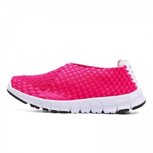 Women's Hot Pink Hui Li Sneakers for Sports