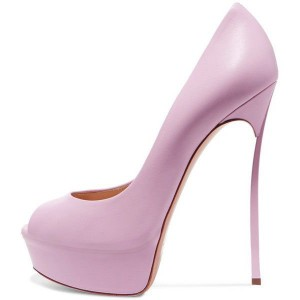 Women's Pink Platform Heels Stiletto Pumps