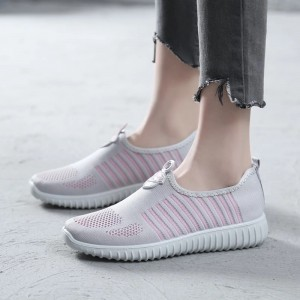 Women's Pink Running Shoes Casual Sports Shoes Hui Li Sneakers