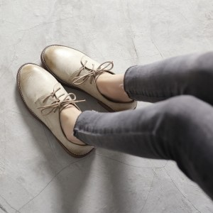 Comfortable Vintage Shoes Lace-up Oxfords for School