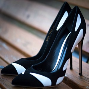 Women's Black Commuting Pointed Toe Stiletto Heels Pumps Shoes