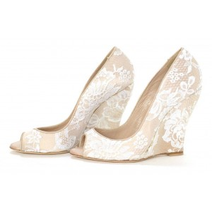 Wedge Heel Shoes for Wedding , Free Shipping to Worldwide | FSJ