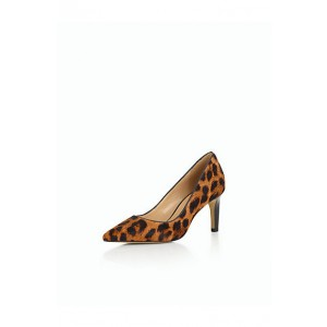 Women's Commuting Stiletto Heel Leopard Printed Pumps