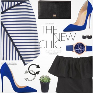 Royal Blue Office High Heel Shoes Stiletto Heels Pumps