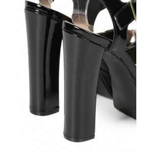Women's Fashionable Chunky Heels Boots