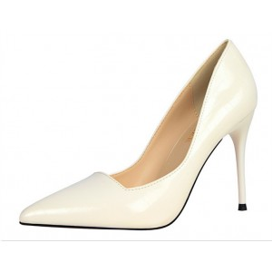 Women's Write Pointy Toe Commuting Stiletto Heel Wedding Shoes